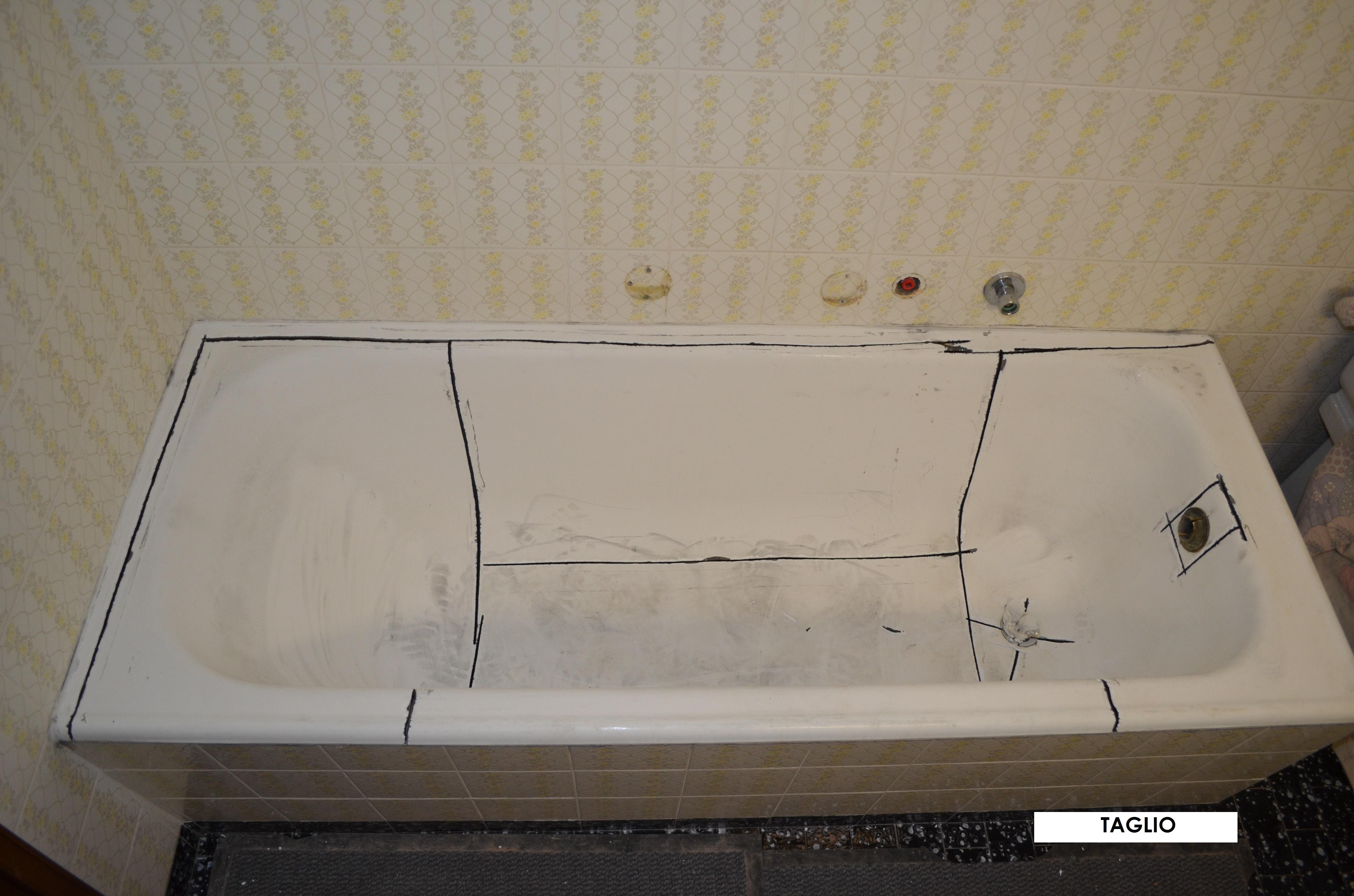 Vasca Da Bagno Kaldewei : Sostituzione vasca da bagno e piatti doccia senza danni alle