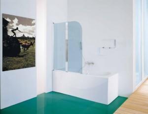 SAMO parete vasca classic pieghevole due ante
