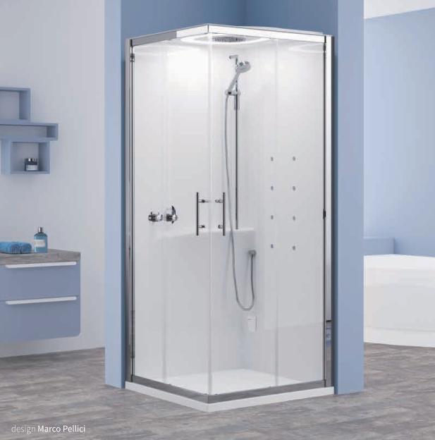 Cabina doccia multifunzione eon hummam - Cabine doccia multifunzione novellini ...